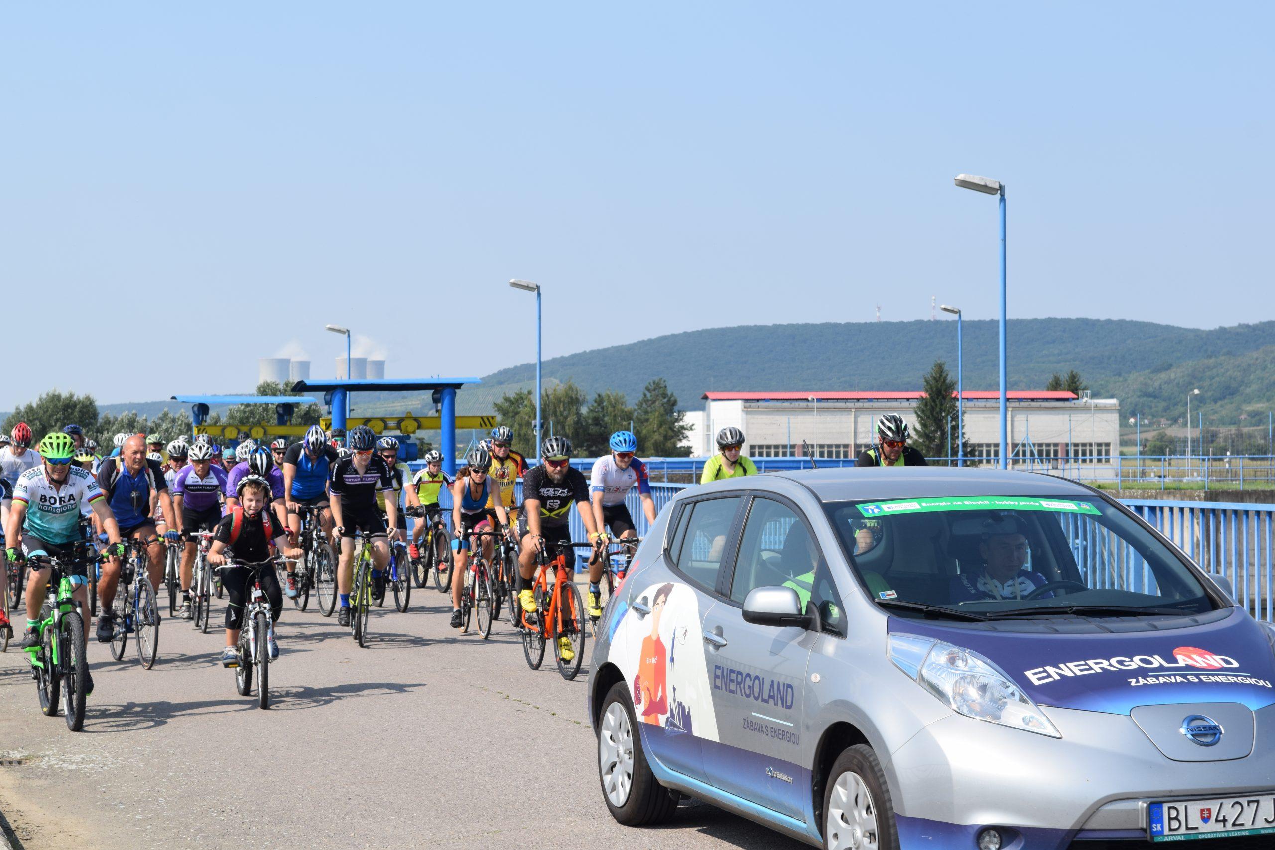 Energia na bicykli: Zaži v nedeľu atmosféru priamo v pelotóne!
