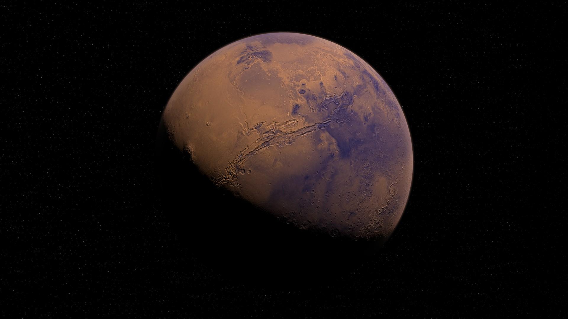 Mars, červená planéta