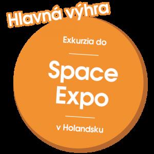 Hlavná cena: Exkurzia do Space Expo v Holandsku