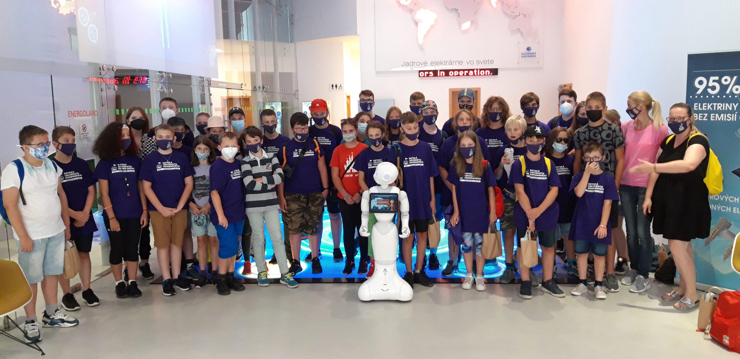 Študenti Detskej Univerzity Komenského navštívili Energoland
